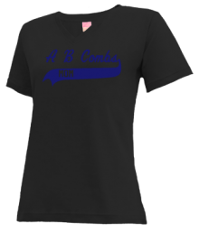 A B Combs Elementary School  V-neck Shirts