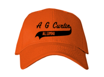 A G Curtin Middle School  Baseball Caps