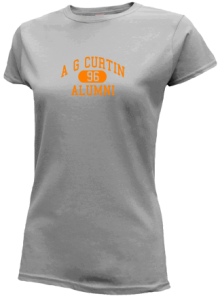 A G Curtin Middle School  Slimfit T-Shirts
