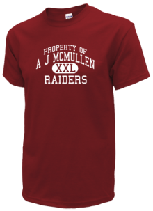 A J Mcmullen Middle School  T-Shirts