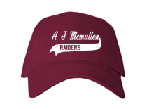 A J Mcmullen Middle School  Baseball Caps