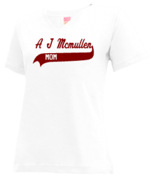 A J Mcmullen Middle School  V-neck Shirts