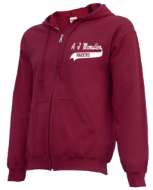 A J Mcmullen Middle School  Zip-up Hoodies