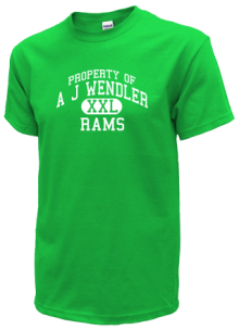 A J Wendler Middle School  T-Shirts