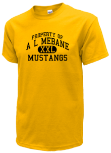 A L Mebane Middle School  T-Shirts