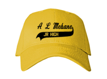 A L Mebane Middle School  Baseball Caps