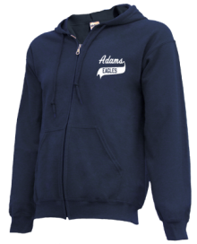 Adams Elementary School  Zip-up Hoodies