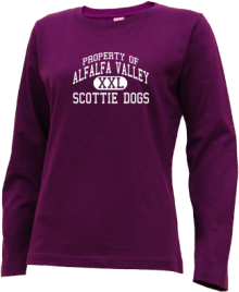 Alfalfa Valley Elementary School  Long Sleeve Shirts