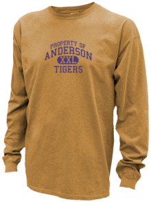 Anderson Middle School  Pigment Dyed Shirts