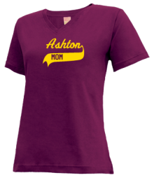 Ashton Elementary School  V-neck Shirts