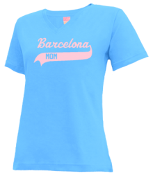 Barcelona Elementary School  V-neck Shirts