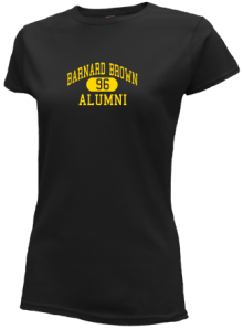 Barnard Brown Elementary School  Slimfit T-Shirts