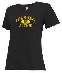 Barnard Brown Elementary School  V-neck Shirts