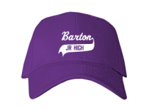 Barton Junior High School Baseball Caps