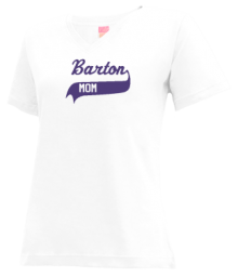 Barton Junior High School V-neck Shirts