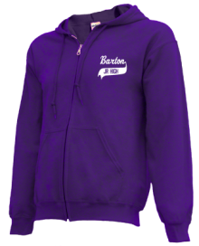 Barton Junior High School Zip-up Hoodies