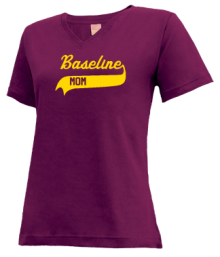 Baseline Middle School  V-neck Shirts