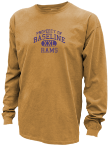Baseline Middle School  Pigment Dyed Shirts