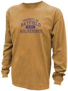 Bayfield Middle School  Pigment Dyed Shirts