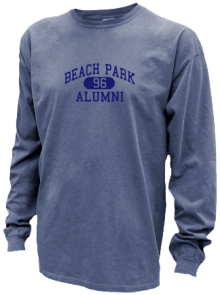 Beach Park School  Pigment Dyed Shirts