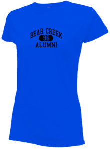 Bear Creek Elementary School  Slimfit T-Shirts