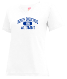 Bergen Boulevard School  V-neck Shirts
