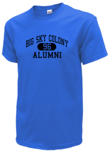 Big Sky Colony Elementary School  T-Shirts