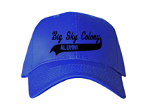 Big Sky Colony Elementary School  Baseball Caps