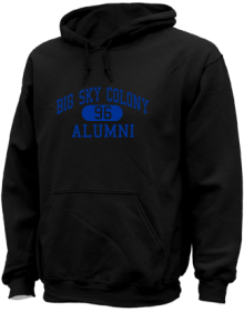 Big Sky Colony Elementary School  Hoodies