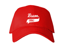 Bison Elementary School  Baseball Caps