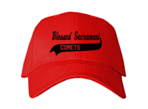 Blessed Sacrament School  Baseball Caps