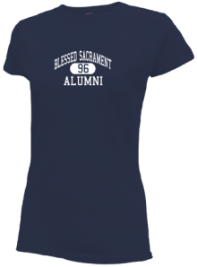 Blessed Sacrament School  Slimfit T-Shirts