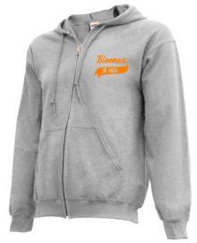 Bloomer Middle School  Zip-up Hoodies