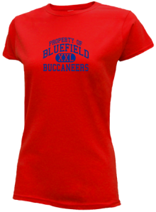 Bluefield Middle School  Slimfit T-Shirts