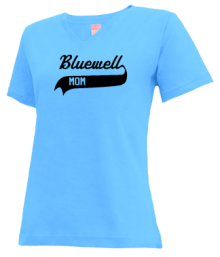 Bluewell Elementary School  V-neck Shirts
