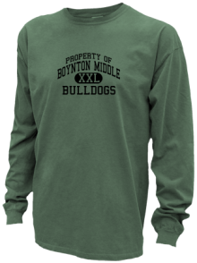 Boynton Middle School  Pigment Dyed Shirts