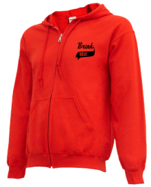 Brink Junior High School Zip-up Hoodies