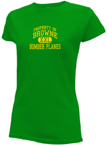 Browne Junior High School Slimfit T-Shirts