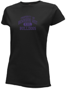 Brownsburg West Middle School  Slimfit T-Shirts