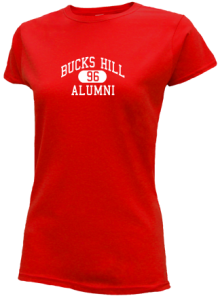 Bucks Hill Elementary School  Slimfit T-Shirts