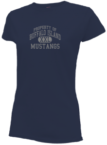 Buffalo Island Central West Elementary  Slimfit T-Shirts