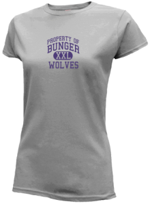Bunger Middle School  Slimfit T-Shirts