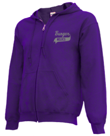 Bunger Middle School  Zip-up Hoodies