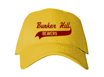 Bunker Hill Elementary School  Baseball Caps