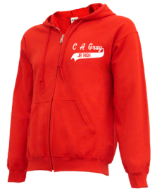 C A Gray Middle School  Zip-up Hoodies
