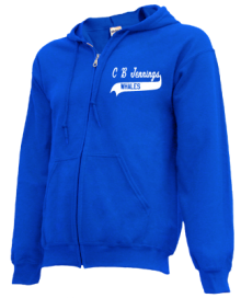 C B Jennings Elementary School  Zip-up Hoodies