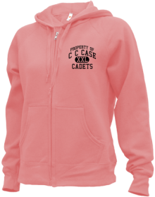 C C Case Elementary School  Zip-up Hoodies