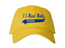 C E Mccall Middle School  Baseball Caps