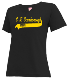 C L Scarborough Middle School  V-neck Shirts