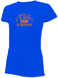 C N Scott Middle School  Slimfit T-Shirts